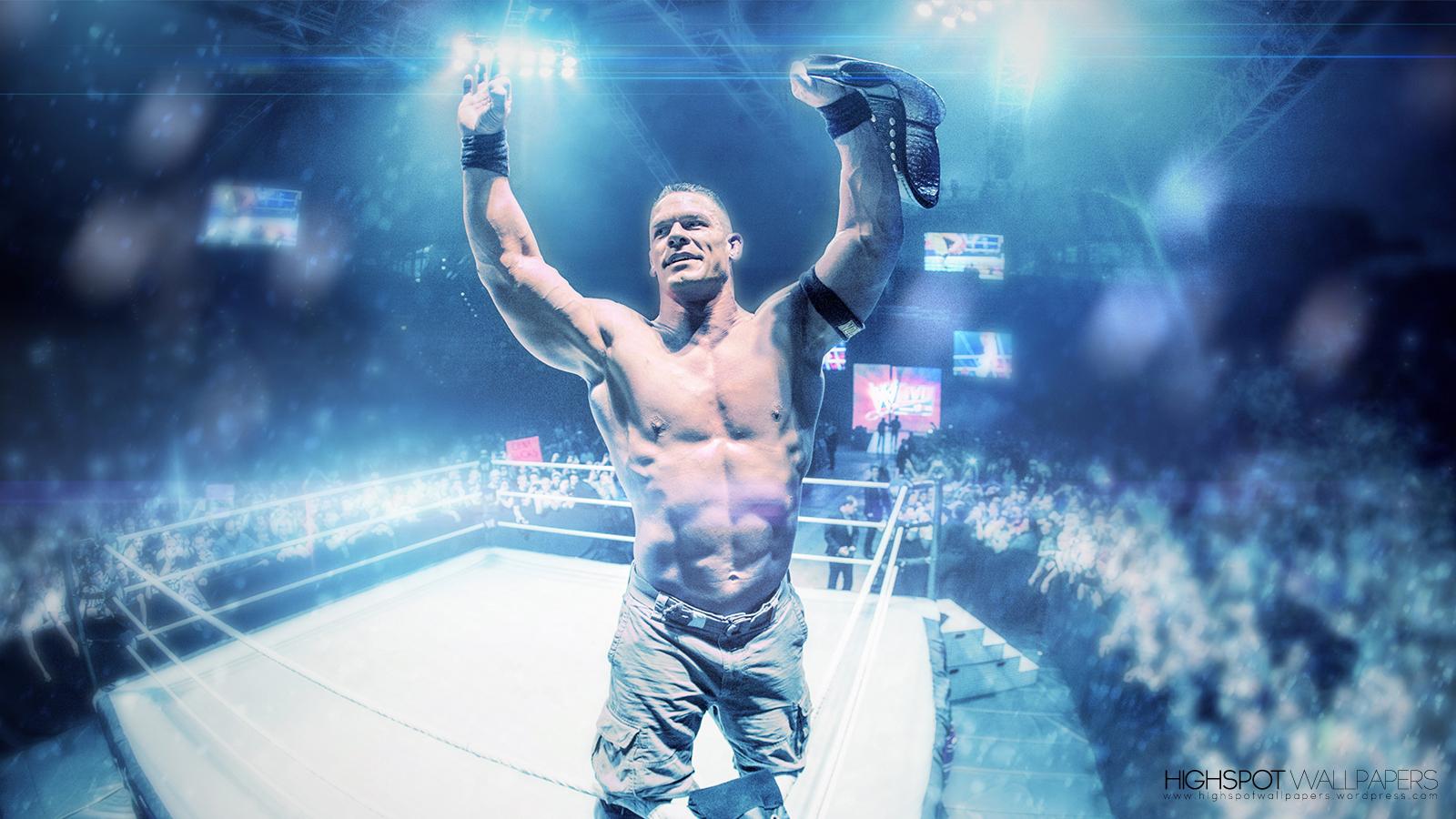 John Cena Vibrant Series Wallpaper