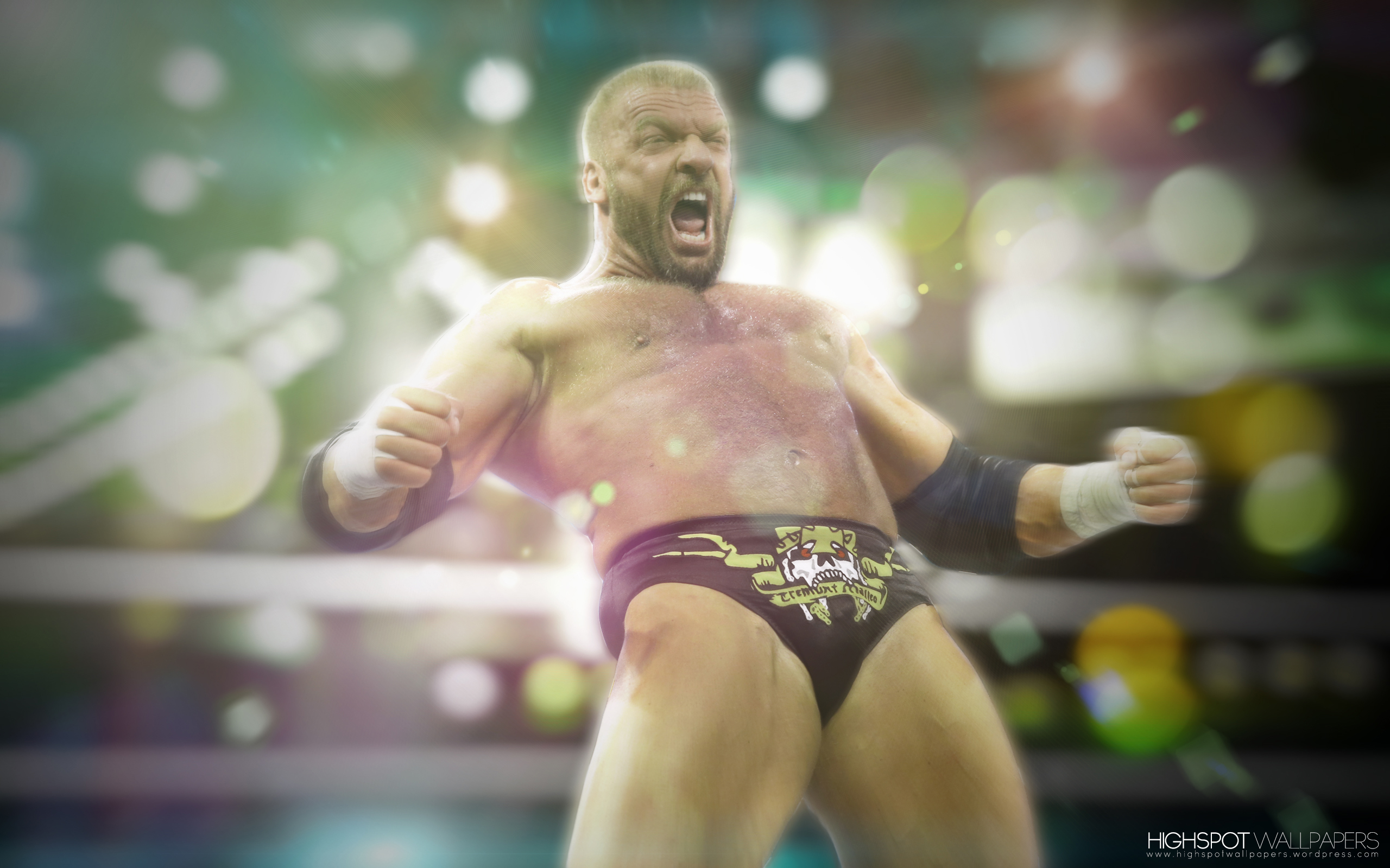 Triple H Vibrant Series Wallpaper Highspot Wrestling Wallpapers