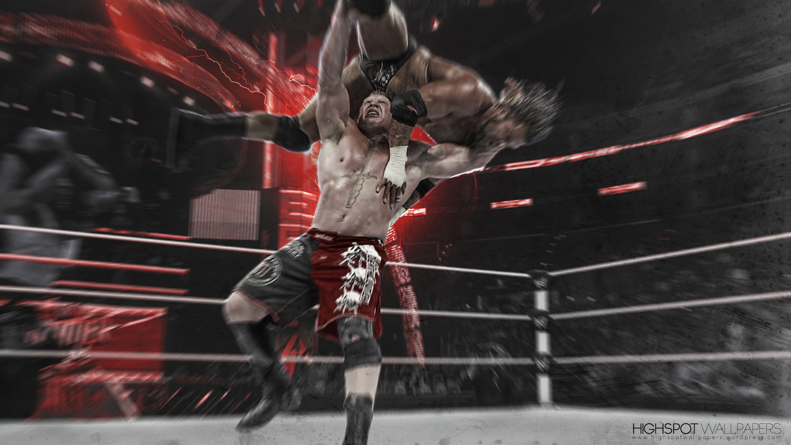 Brock Lesnar Action Series Wallpaper | Highspot Wrestling ...