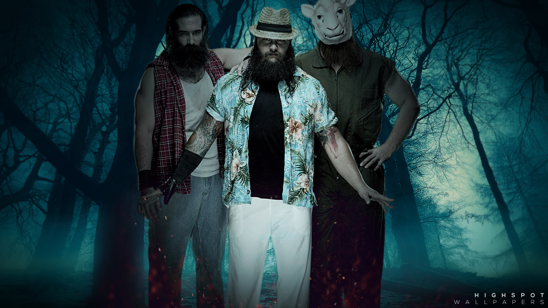 The Wyatt Family Wallpaper | Highspot Wrestling Wallpapers